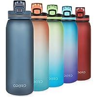 Opard Drinkfles Sport 900 ml waterfles van Tritan, BPA-vrij, lekvrije sportfles voor kinderen, sport, fitness, fiets…