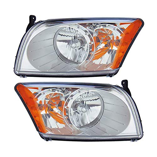 Pair New Left Right Headlight Assembly For Dodge Caliber 2007-2011 - BuyAutoParts 16-80404A9 New