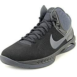 Nike Air Visi Pro Vi Nubuck Men's Basketball Shoes, Blackanthracite, Size 9.5