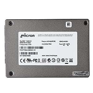 Micron RealSSD C400 256GB MTFDDAK256MAM-1K1 2.5 Inch 7MM SATA III SSD 6Gb/s Solid State Disk, [Importado de Reino Unido]
