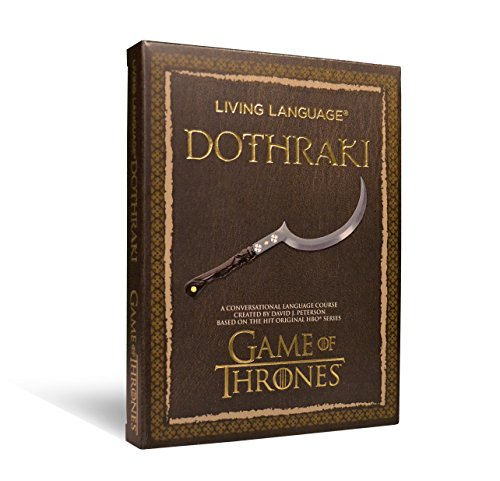 Living Language Dothraki: A Conversational Language Course Based on the Hit Original HBO Series Game of Thrones (Living Language Courses) by imusti