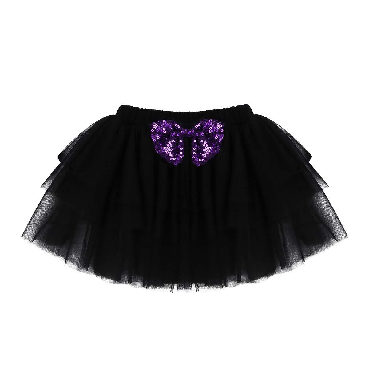 FEESHOW Baby Girls My 1st Halloween Outfit Costumes Romper Bodysuit Tutu Skirt Headband Set Black 5 pcs Set 0-3 Months by FEESHOW (Image #5)