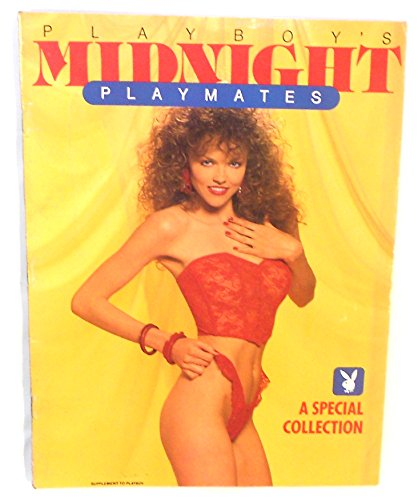 Playboy's Midnight Playmates Special Edition 1990 Playboy Magazine - Vintage Men's Adult Magazine Back Issue from Black Market Antiques