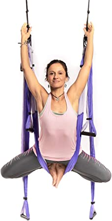 Amazon.com: YOGABODY Yoga Trapeze [oficial] - Yoga Swing ...