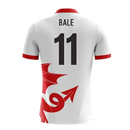 1f8bc9053 Image Unavailable. Image not available for. Color  2018-2019 Wales Airo  Concept Away Football Soccer T-Shirt Jersey (Gareth Bale