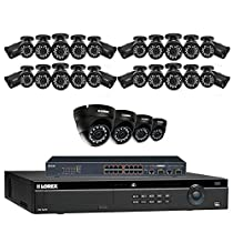 Lorex 32 Channel 4K 4MP Security System NR9326 6TB HDD 28 4MP LNB4421B Bullet Cameras 4 4MP LNE4422B Dome Cameras with color night vision