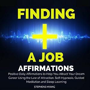 Finding a Job Affirmations Speech