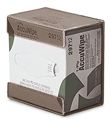 TrippNT 50008SMOKE Acrylic Small Kimwipe Holder with Double Faced Mounting Tape, 3.5\