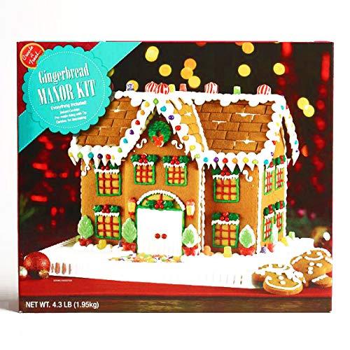 Manor Gingerbread House Kit 68.8 oz each (1 Item Per Order, not per case) ()