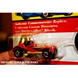 Hot Wheels Vintage Collection Authentic Commemorative Replica California Custom Red Baron Car