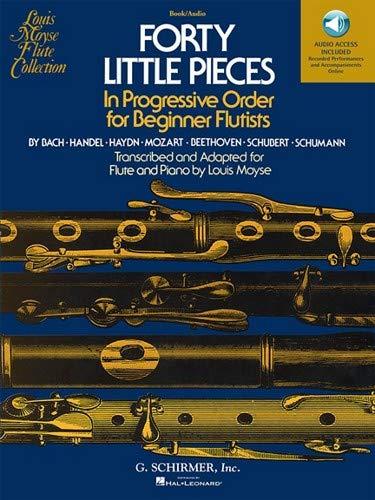 (Hal Leonard Forty Little Pieces -Book/Online Audio)