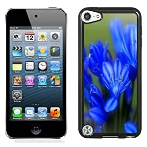 New Personalized Custom Designed For iPod Touch 5th Phone Case For Blue Tulip Phone Case Cover