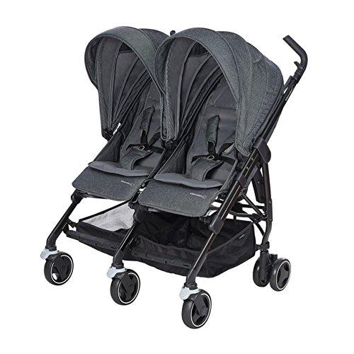 B/éb/é Confort Dana for 2 f/ür Zwillinge//gleichaltrige Kinder Farbe frei w/ählbar kompakter/Doppel-Kinderwagen