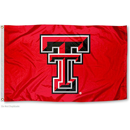 TTU Texas Tech Red Raiders University Large College (Texas Tech Flag)