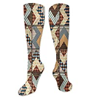 Pattern Socks,Socks For Girls,Women Casual,Socks Chevron Zigzag Lines With Curves