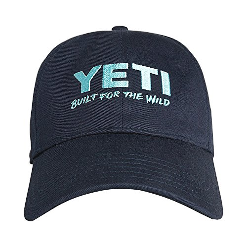 [YETI Lifestyle Full Panel Low Pro Hat - Navy Blue] (Yeti Hat)