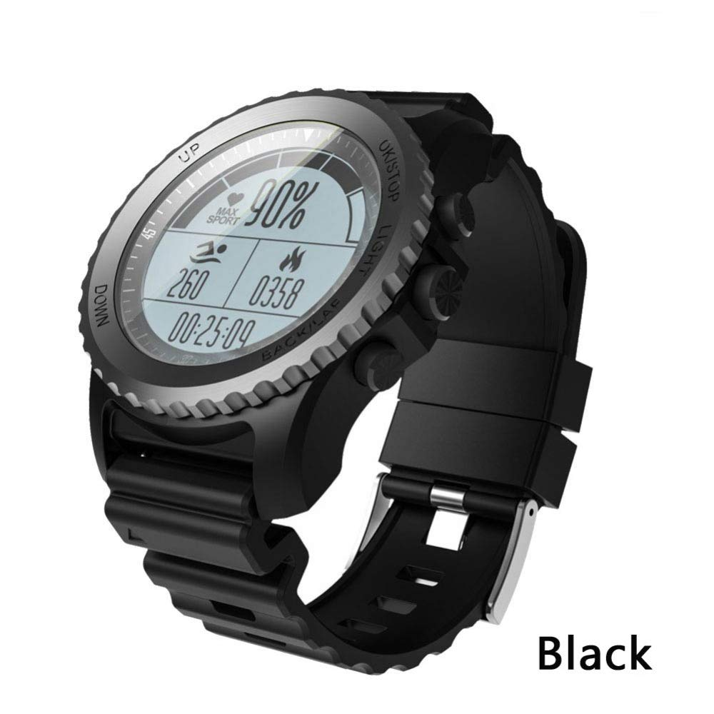 ZLOPV Pulsera GPS Smart Watch IP68 Impermeable Monitor de Ritmo ...