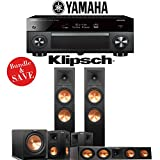 Klipsch RP-280F 5.1-Ch Reference Premiere Home Theater System with Yamaha AVENTAGE RX-A2070BL 9.2-Channel Network AV Receiver