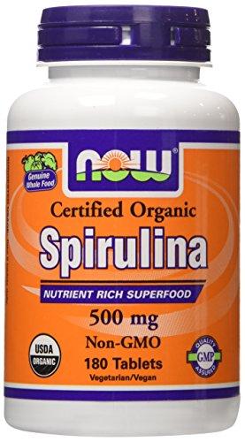Organic Spirulina 500mg Tablets Pack