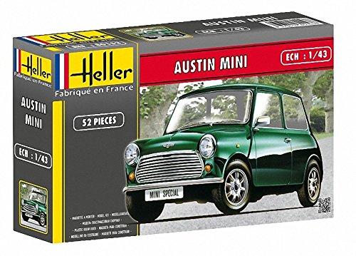 Amazoncom Heller Austin Mini Rallye Car Model Building Kit Toys