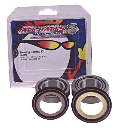 All Balls Steering Stem Bearing Kit For Honda FSC600/FSC600D Silver Wing ABS/GL1800HP 2006 / GL1800/GL1800A 2001-2005 / GL1800 2007-2010 / GL1800HP 2009-2010 / GL1800HPN/GL1800HPNA 2006-2009 / GL1800P 2006-2008 / RVT1000R RC51 2000-2001 - 22-1037