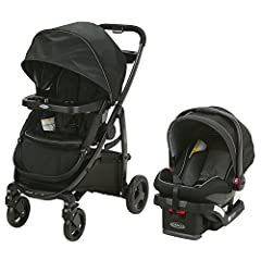 The Graco Modes Travel System is the perfect stroller to grow with you and your baby from infant to toddler. It is 3 strollers in 1 and provides 10 versatile riding options. It also includes the Graco Snug Ride Snug Lock 35 Infant Car Seat, h...