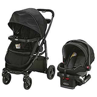The Graco Modes Travel System is the perfect stroller to grow with you and your baby from infant to toddler. It is 3 strollers in 1 and provides 10 versatile riding options. It also includes the Graco Snug Ride Snug Lock 35 Infant Car Seat, holding y...