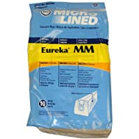 DVC Home Care Products Bolsa de vacío para papel micro rayado Eureka Mighty Mite, paquete de 10