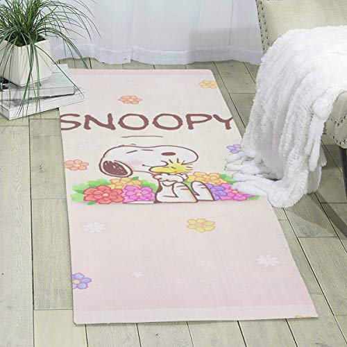 MOANDJI Snoopy Area Rugs Soft Indoor Modern Carpets Perfect for Indoor & Outdoor Rugs - Garden and Pool Area 70