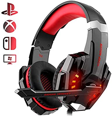 Auriculares Gaming PS4, Galopar Cascos Gaming, Premium Stereo con ...