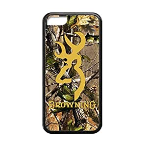 Diycase Browning Deer Camo for iPhone 4s case cover Rubber Sides Shockproof protective with MzOjajbjj9D Laser Technology Printing Matte Result