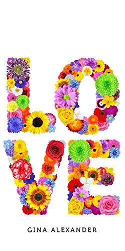 Gina Alexander iPhone 5 Transparent Case (LOVE Flowers)