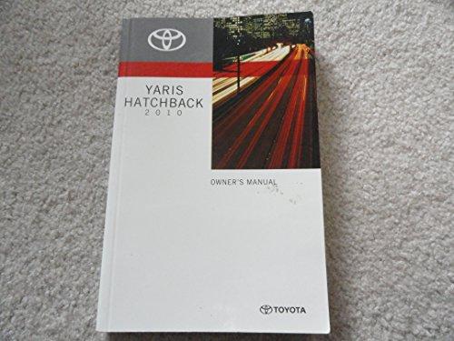 2010 Toyota Yaris Hatchback Owners Manual