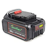 Waitley DCB200 20V Max XR 6.0Ah Lithium Ion Replacement Battery for Dewalt DCB205 DCB206 DCB203 DCB204 DCD780 DCD785 DCD795 DCF885 DCF895 DCS380 DCS391 Battery Review