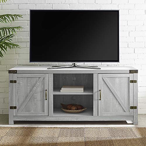 Magnificent Amazon Com Manor Park Modern Farmhouse Barn Door Tv Stand Onthecornerstone Fun Painted Chair Ideas Images Onthecornerstoneorg