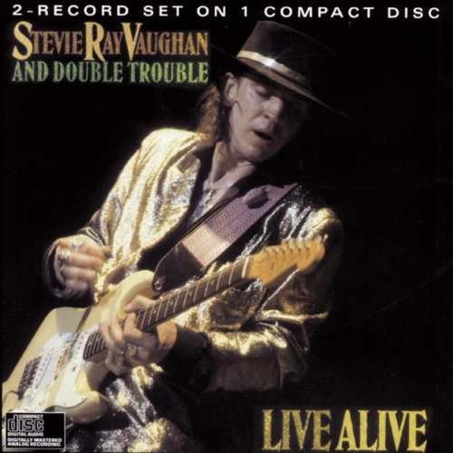 CD : Stevie Ray Vaughan - Live Alive (CD)
