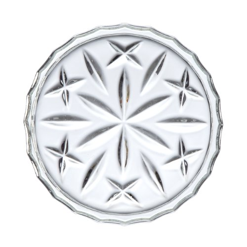 Gorham Lady Anne Crystal Coasters, Set of 4