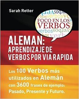 Amazoncom Aleman Aprendizaje De Verbos Por Via Rapida