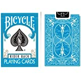 Jeu Bicycle à dos Bleu Turquoise (US Playing Card Company)
