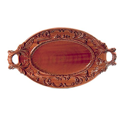 Intrada BAR7428P Oval Platter with Handles, 21.5