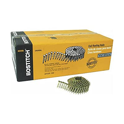 Stanley Bostitch CR5DGAL 1-3/4-Inch Coil Nail, 7200-Pack by Bostitch