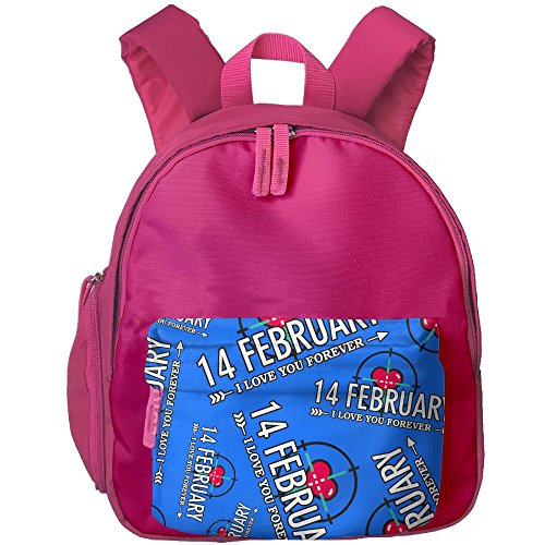 I Love You Forever Target Student Carrying Bookbag Graphic Anti-lost Backpack