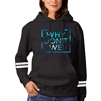 7338f24f2 Amazon.com: Why-Don't-We-Galaxy Womens Fashion Hoodie Sweatshirts Sports  Pullover Sweaters Cotton Croptop: Clothing