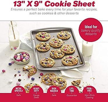 13 Inch x 9 Inch 2 Pack Goodcook 4020 Baking Sheet