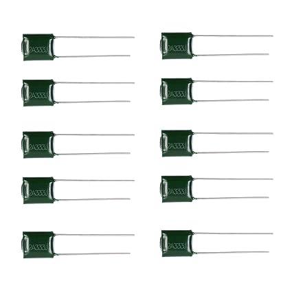MagiDeal Tapa de Tono para Guitarra de Condensador Electrolítico para Guitarra Eléctrica - Verde 2a333j,