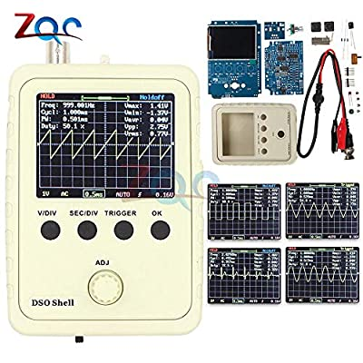 Fully Assembled Orignal Tech DS0150 15001K DSO-Shell (DSO150) DIY Digital Oscilloscope Kit with Housing case Box