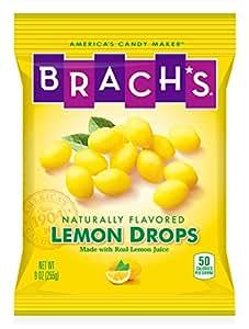 Brach's Lemon Drops Candy, 9 Ounces