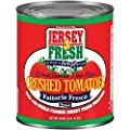 Jersey Fresh Crushed Tomatoes , Fattoria Fresca, 28 Ounce (Pack of 12)