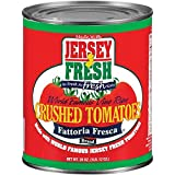 Jersey Fresh Crushed Tomatoes, Fattoria Fresca, 28 Ounce (Pack of 12)
