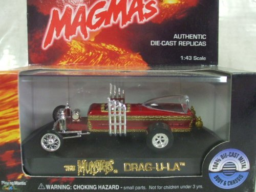 Johnny Lightning Magmas - The Munsters Dragula (Drag-U-La) 1:43 scale